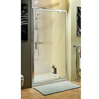 Savisto 800mm Pivot Shower Door  - 6mm Thick