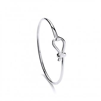 Cavendish French Sterling Silver Latch Bangle
