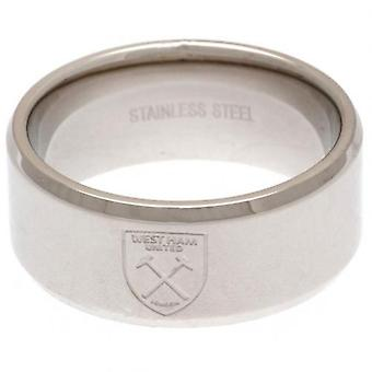 West Ham United Band Ring klein