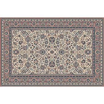 Royale Russet terrain 1561-515 ivoire avec roux frontières Rectangle Tapis Tapis traditionnel