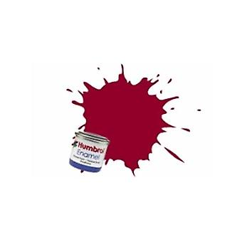 Humbrol Enamel Paint 14ML No 20 Crimson - Gloss
