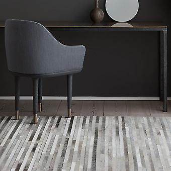 Rugs -Linie Channel Leather - Light Grey