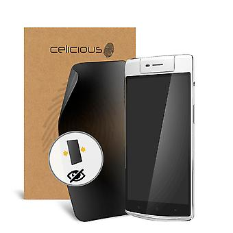Celicious Privacy Oppo N3 2-Way Visual Black Out Screen Protector