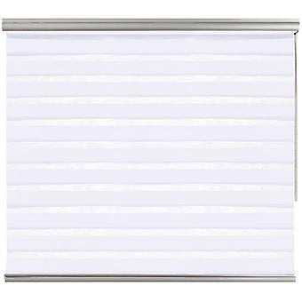 Store Home Night & Day - Double roller blind Premium White