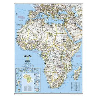 Africa Classic laminated : Wall Maps Continents: PP.NGC622110 (National Geographic Reference Map) (Map) by National Geographic Maps