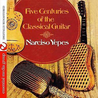 Narciso Yepes - Five Centuries of the Classical Guitar [CD] USA import
