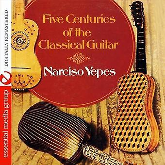 Narciso Yepes - vijf eeuwen van de klassieke gitaar [CD] USA import