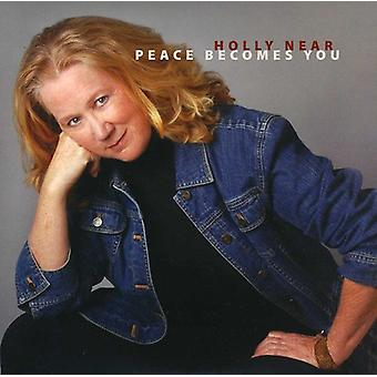 Holly nær - fred bliver du [CD] USA import