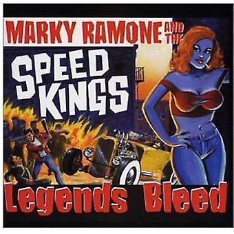 Ramone/Speedkings - legender bløder [CD] USA import