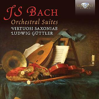 Virtuosi Saxoniae Ludwig Guttler - J.S. Bach: Orchestral Suites [CD] USA import