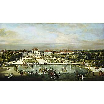 Canaletto - The River Poster Print Giclee