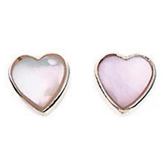 Orecchini argento 925 rosa cuore
