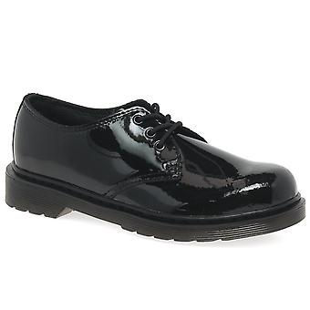 Dr. Martens Everlay 3 Eye Girls Junior School Shoes