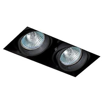 Faro Bcn Falcon Without Frame 2L Qr Cb51 Black (Home , Lighting , Downlights)