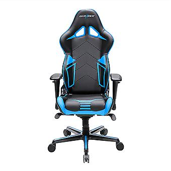 DX Racer DXRacer OH/RV131/NB High-Back Gaming Chair Carbon Look Vinyl+PU(Black/Blue)