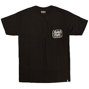 Rebel8 Hops Pocket T-shirt Black