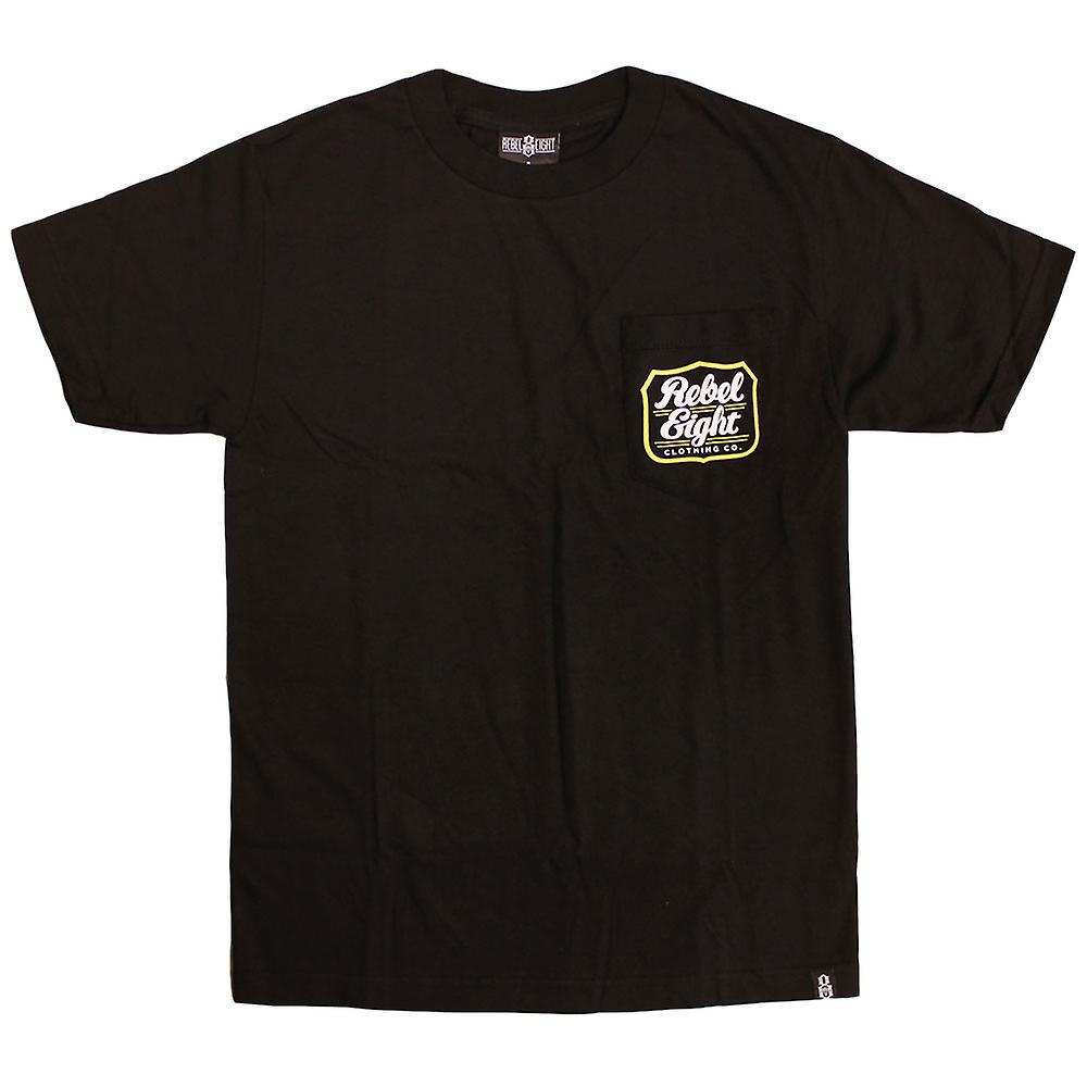 Rebel8 Hops Pocket T-shirt Black