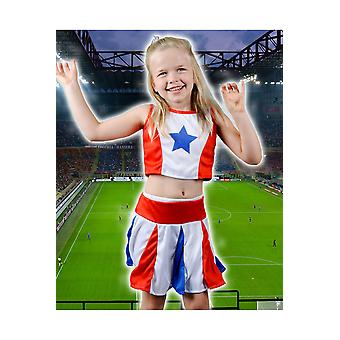 Barn kostymer jenter Cheerleader jente barn