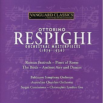 O. Respighi - Respighi: Orkestrale mesterværker (1879-1936) [CD] USA import