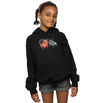 Disney Girls Cars Lightning Vs Storm Hoodie