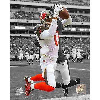 Mike Evans 2015 Spotlight Action Photo Print