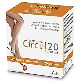 Vendrell Circul 20 ampoules (Diet)