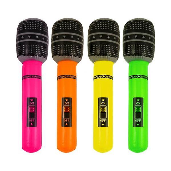 12 Inflatable Microphones 40cm - X99 115