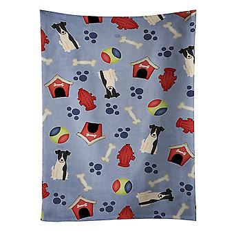 Dog House Collection Smooth Fox Terrier Kitchen Towel