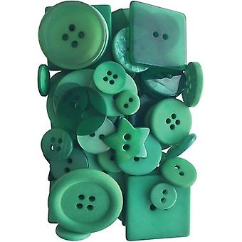 Button Up! Party Pack Buttons-Emerald City JABC55-09