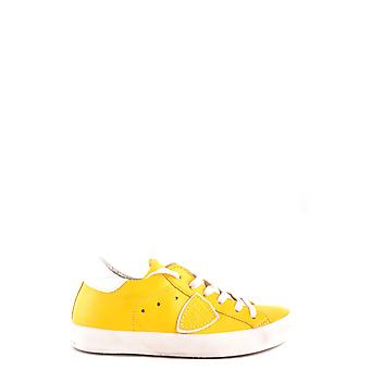 Philippe model ladies MCBI238072O yellow leather of sneakers