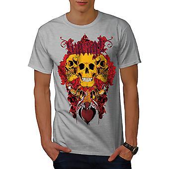 Savage Bad Guy Rose Männer graut-Hemd   Wellcoda