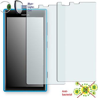 Nokia Lumia 720 screen protector - Disagu ClearScreen protector (deliberately smaller than the display, as this is arched)