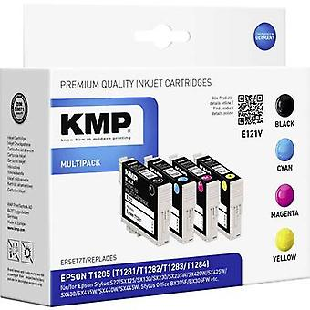 KMP Ink replaced Epson T1285, T1281, T1282, T1283, T1284 Compatible
