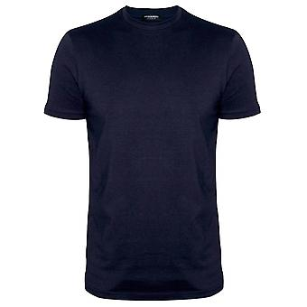 DSQUARED2 Underwear DSQUARED2 Navy DSQ2 Logo Crew Neck T-Shirt