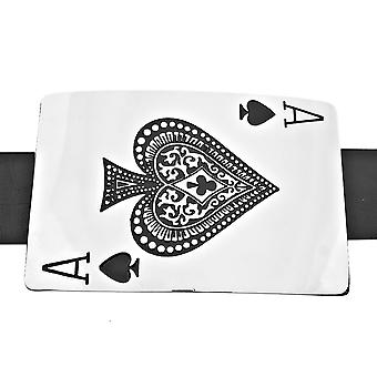Iced out Playa ACE belt buckle belt