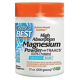 Doctor's Best High Absorption Magnesium Powder 100% Chelated 200 gr