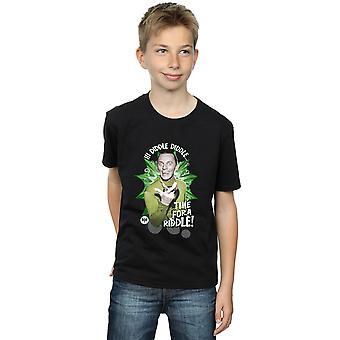 DC Comics Boys Batman TV Series The Riddler Time for a Riddle T-Shirt
