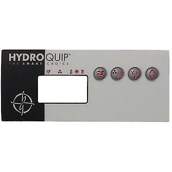 Hydro-Quip 80-0204 øko-8 Decal Overlay
