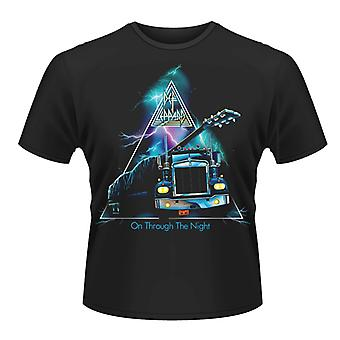 Def Leppard On Through The Night T-Shirt