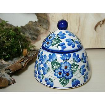 Azúcar / jam jar, 46 - vajilla de cerámica de Bunzlau - BSN 6616