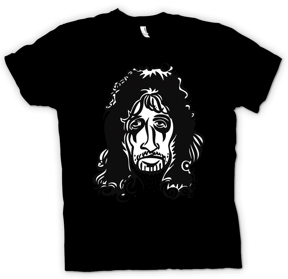 Mens T-shirt - Alice Cooper Rock - Karikatur