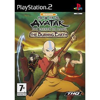 Avatar legenden om Aang - bränna jorden (PS2)