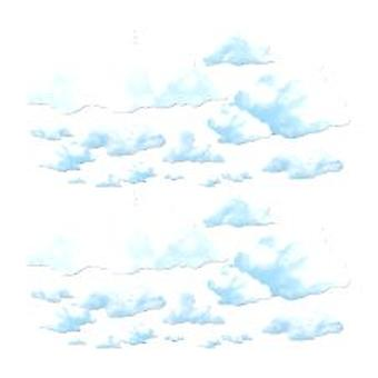 Flauschige Wolke Prop