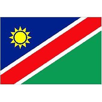 Namibia Flagge 5 ft x 3 ft mit Ösen zum Aufhängen