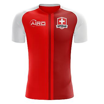 2018-2019 Switzerland Home Concept Football Shirt (Kids)