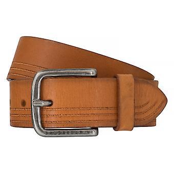 BALDESSARINI correa cuero cinturones hombre cinturones de cuero marrón 6498