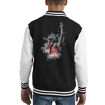 Dua Lipa Smoke Effect Newcastle O2 Academy 2017 Kid's Varsity Jacket