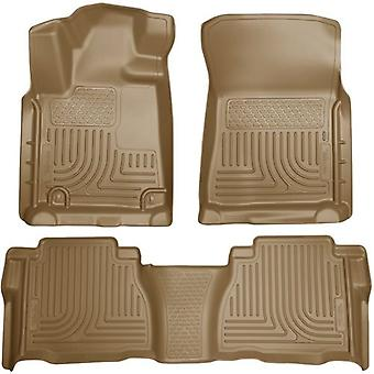 Husky Liners 98583 WeatherBeater kombination Front & 2ND plats golv Liners - (3