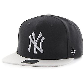 47 fire Snapback Cap - SURE SHOT NY Yankees black/grey