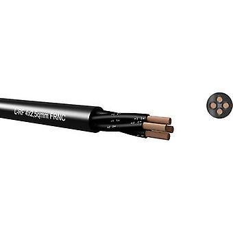 L-RF 4 x 2, 50 qmm, negro, FRNC, cable de altavoz redondo 65H 425000 Kabeltronik